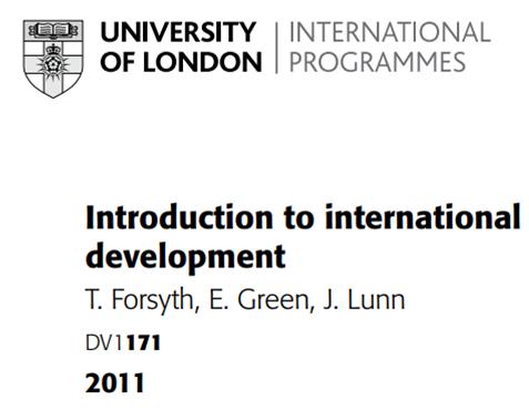 International Development UOL